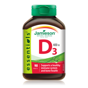 Jamieson Vitamin D tablete 10 μg (400 i.e.)